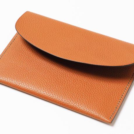 SAIC(Portafoglio  財布⑮) フレンチカーフ<ゴールド>×ゴート<カーキ>