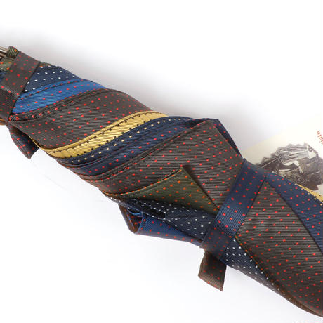 MARIO TALARICO 傘⑬ 栗の木(モンテッラ産)水玉ミックス特別仕様