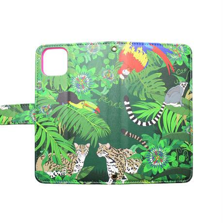 Smartphone case-Rainforest-ミラー&チェーン付きタイプ