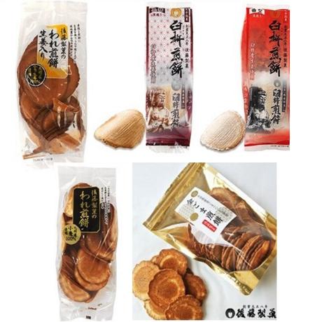 こだわりの煎餅・5種類詰め合わせセット