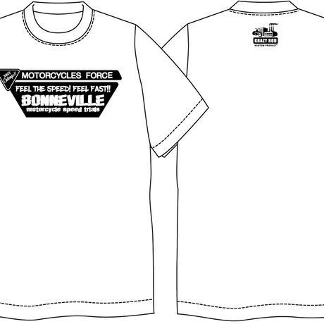 ボンネビル参戦サポートTシャツ