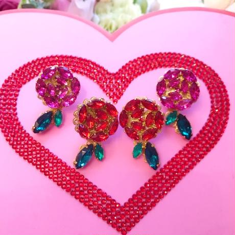 Beauty Rose pierce&earring♡美しいバラのピアス&イヤリング♡
