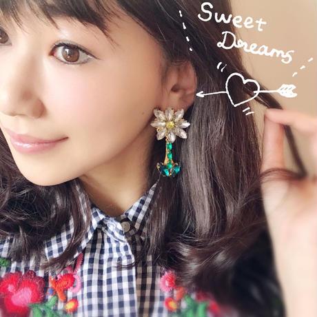 人気!Daisy bijou pierce&earring♡デイジービジューピアスNEW♡
