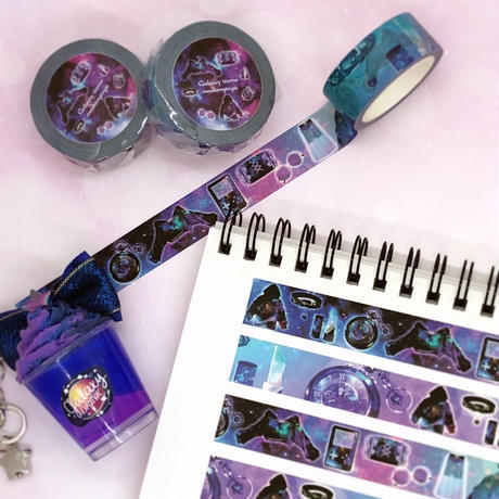 №11 Galaxy items maskingtape