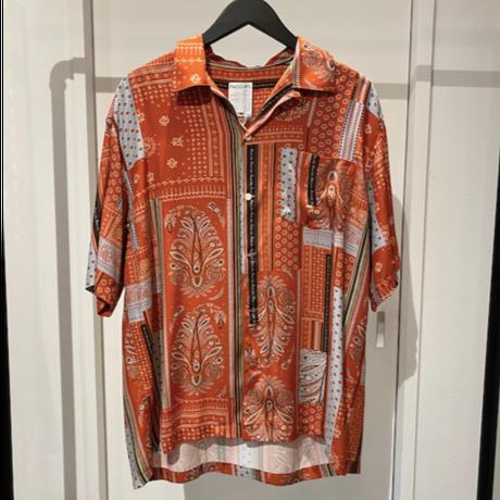 """FACCIES ファッチーズ """"ORIGINAL PAISLEY OPEN SHIRT S/S"""" オリジナルペイズリーオープンシャツ"""