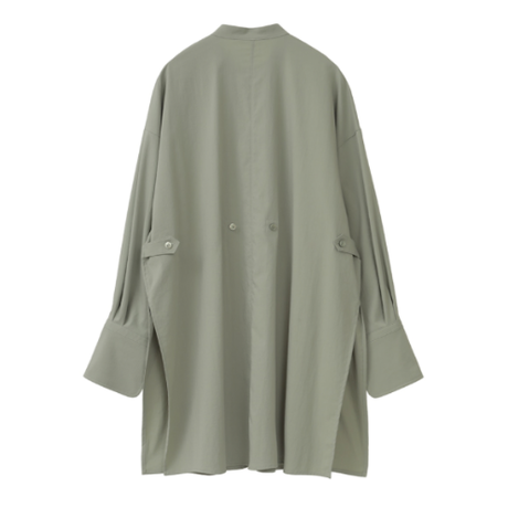 "CLANE クラネ ""TWO WAY PIN TUCK DRESS SHIRT"" 2ウェイピンタックドレスシャツ"