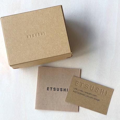 "ETSUSHI エツシ SEASON COLOUR""CP01"" リング"
