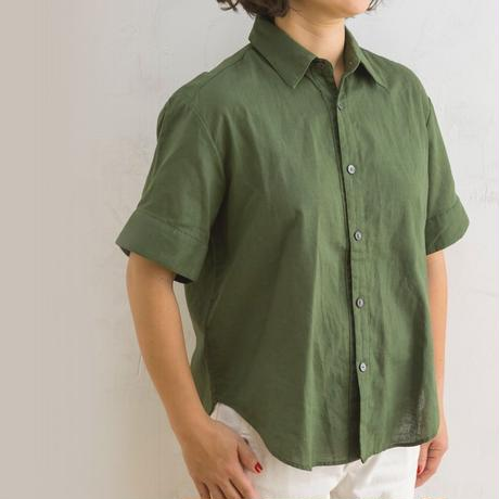 new sleeve shirts カーキ(160cm)