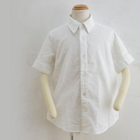 new sleeve shirts ホワイト(160cm)