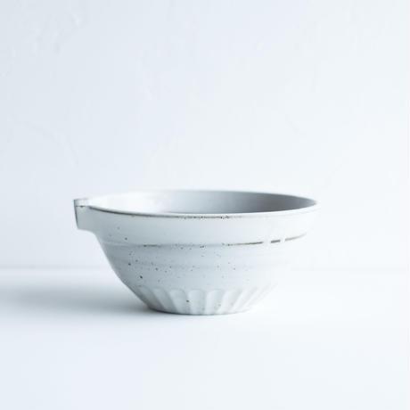 すり鉢【白】