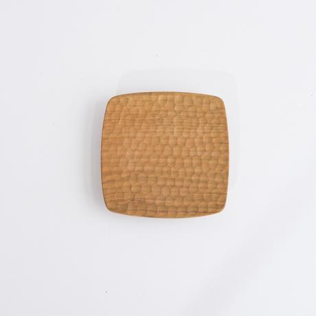 四角皿4寸 山桜