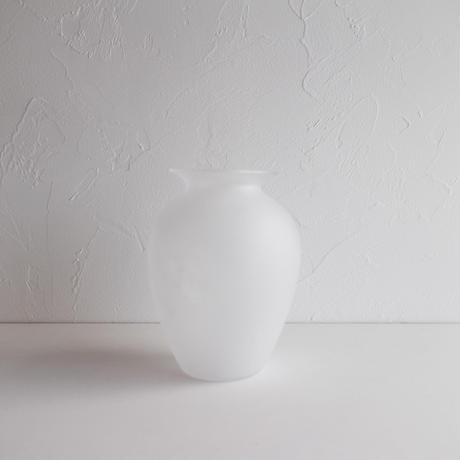 Bamboo glass 三浦侑子 壺(白)