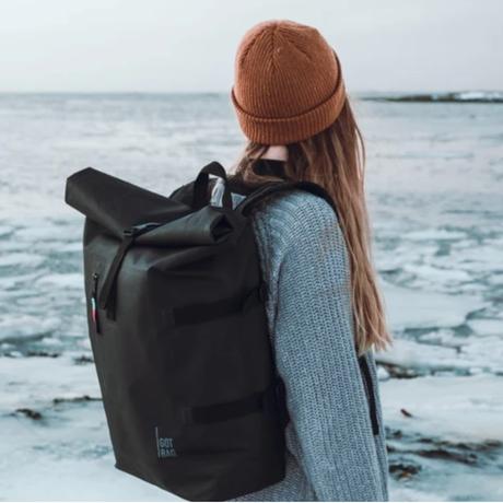 【GOTBAG.】海洋廃棄プラスチックからできたバッグ ロールトップ バックパック