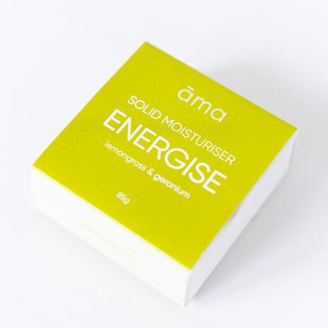 【ama】ENERGISE レモングラス&ゼラニウム ボディバー 固形ボディバーム