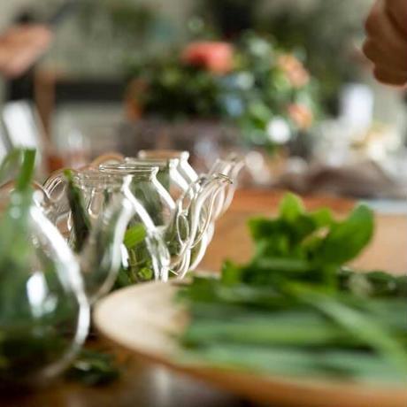 12・5(日)クリスマスワークショップ herb DE Table