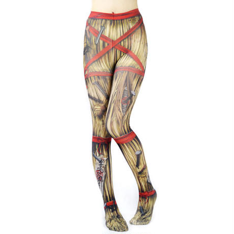 Nude  SOX MDT-013  Mad Science tights<藁人形/Jack of straw>
