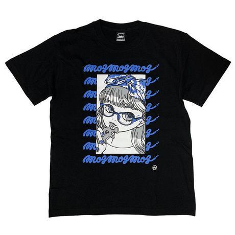 """ミカヅキ   T-016  """" mog mog mog """" Tシャツ"""