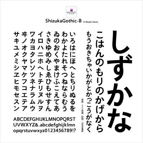 靜呉竹OTF-B Mac