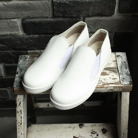 【OUTLET】 SLIPON SNEAKER SHRINK WHITE (SIZE 4)