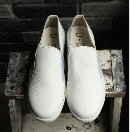 【OUTLET】 SLIPON SNEAKER SHRINK WHITE (SIZE 6)