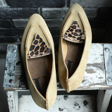 【OUTLET】TRIANGLE  SLIPON COMBI (SIZE 6)