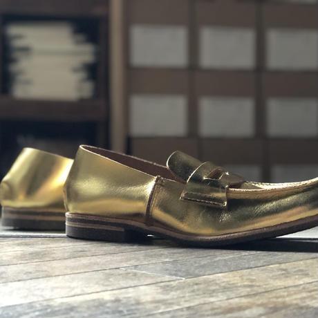U-807-10/LOAFER FOILED GOLD