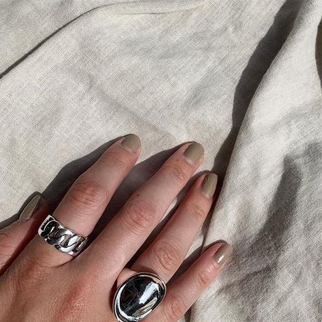 《予約販売》silver chain ring
