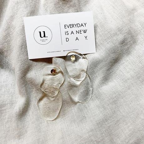 clear   pierce・earring