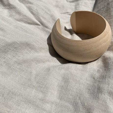 《再予約販売》natural wood bangle
