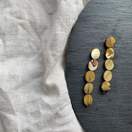 shell long pierce・earring