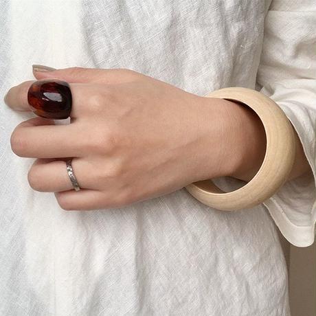 《予約販売》tortoise ring