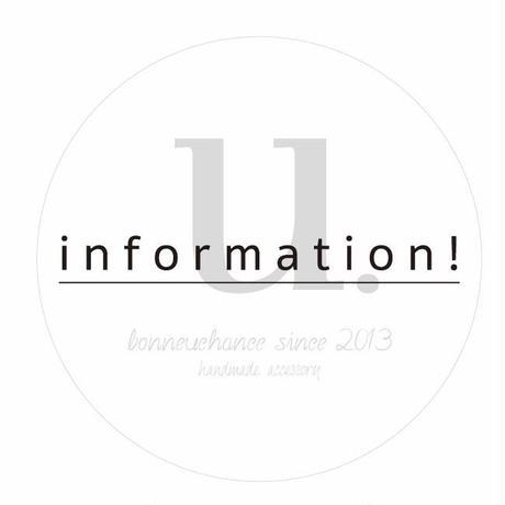 information ※ご購入前にお読み下さい