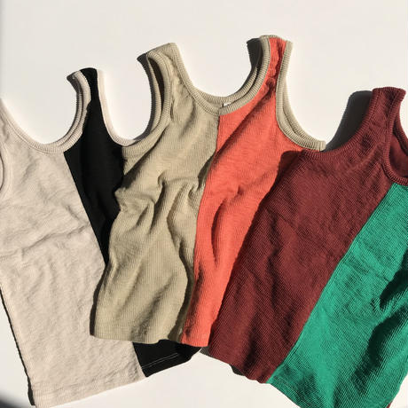 By color tank top