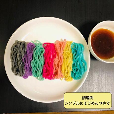 レインボーラーメン レインボー麺 7色  ゲーミング