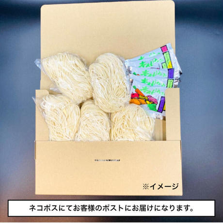 【sale】博多豚骨ラーメン(極細麺) 5食セット 送料無料 おうちで専門店の麺を!