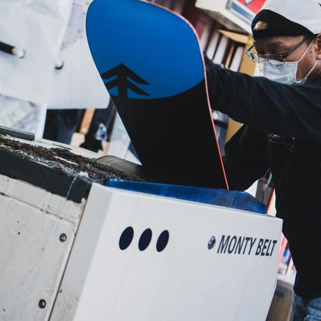 【スキー・BLACK DIAMOND】カスタムメイド ストラクチャーチューン&マウンテンライフワックス加工