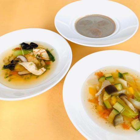 B.いのちのスープ3種