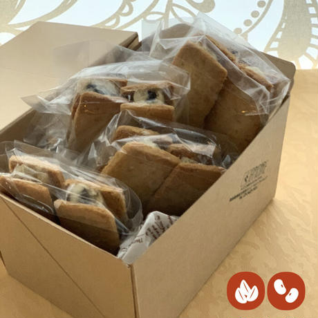 VEGAN レーズンバターサンド4パック(8個入)