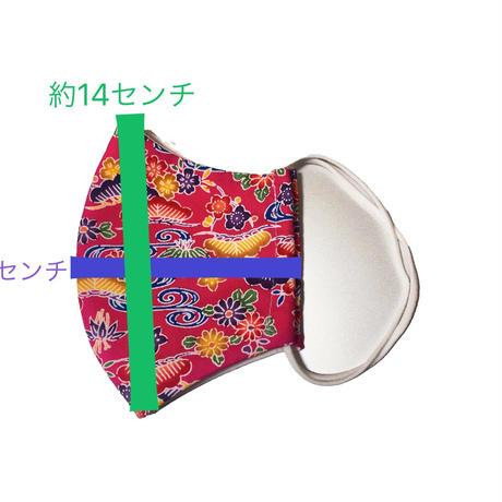 うちなー屋オリジナル 琉球柄 大人用マスク1枚各種 5枚以上で5%OFF