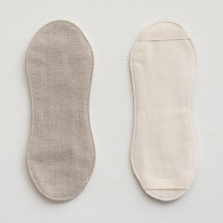 Organic Linen Sanitary  布ナプキン  liner  2枚セット