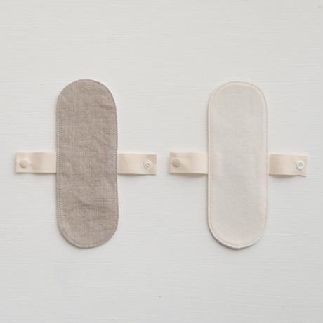 Organic Linen Sanitary  布ナプキン  パンティライナー 2枚セット
