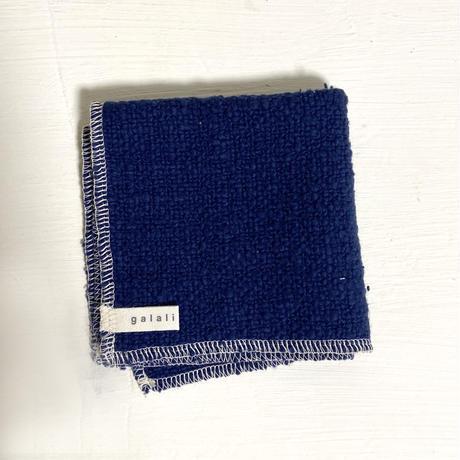 ORGANIC COTTON GARABO  多用布 S ブルー