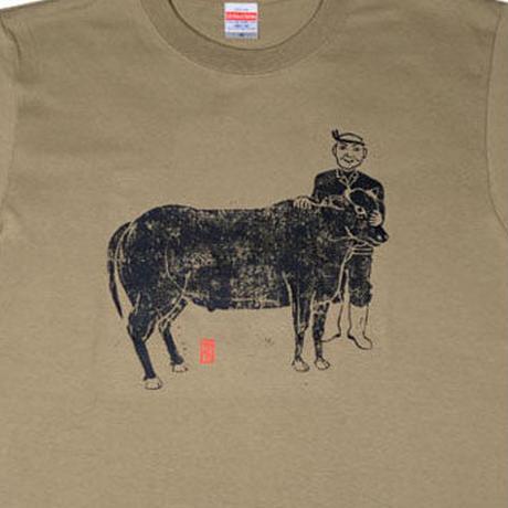 牛飼いTシャツ