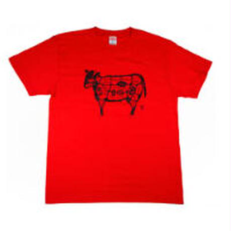 肉の部位Tシャツ