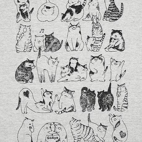 ゆるい猫たちTシャツ
