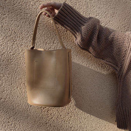 bucket  bag(beige)