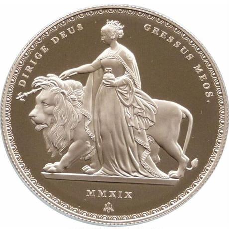 2019 5ソブリン金貨 ウナとライオン プルーフコイン 200枚 FIVE SOVEREIGN COIN GOLD Una Lion
