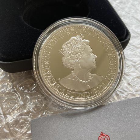 【セントヘレナ版】スリーグレイセス 2021年 1オンス銀貨 シルバー プルーフコイン Three Graces St.Helena Silver Proof Coin 1oz
