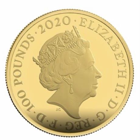 【第2貨】1オンス 007 ジェームズ・ボンド 100ポンド金貨 プルーフコイン ゴールド 英国 ロイヤルミント  james bond pay attention