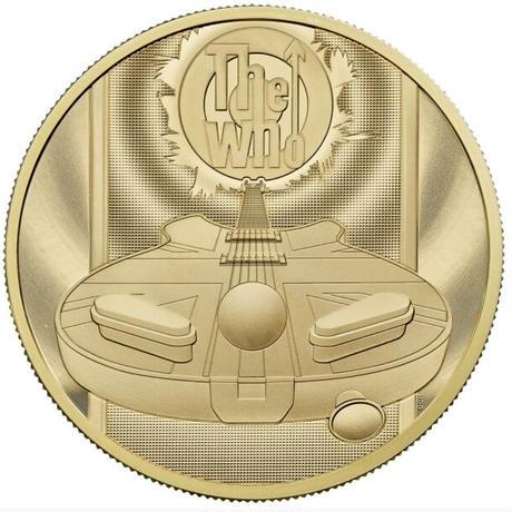 ※必ず購入前に問い合わせ下さい  【8月上旬発送予定】ミュージック レジェンド ザ・フー The Who 2オンス 200ポンド金貨 ゴールドプルーフコイン 2021 英国 イギリス ロイヤルミント